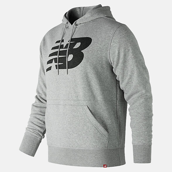 New Balance Essentials Pullover Hoodie, MT81557AG