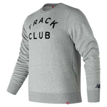 New Balance Essentials Track Club Crew, Athletic Grey