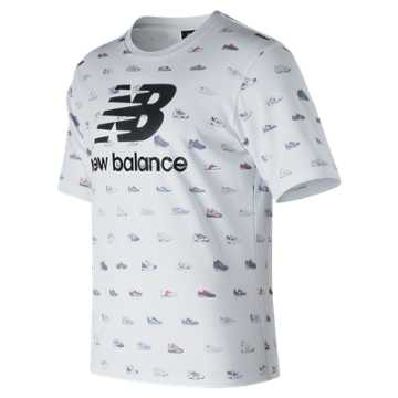 New Balance Archive Tee, White
