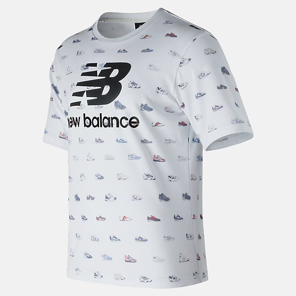 New Balance Archive Tee, MT81565WT