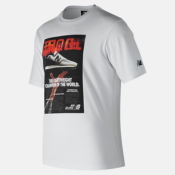 New Balance Ghost Tee, MT81566WT