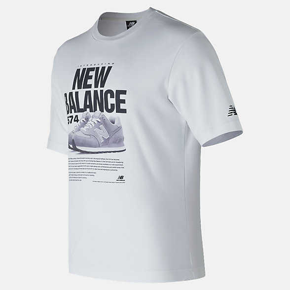 New Balance 574 Tee, MT81567WT