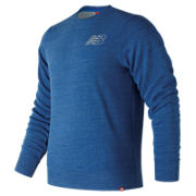 New Balance Heather Crew, Lake Blue