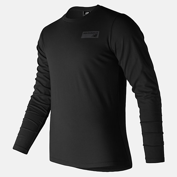 New Balance NB Athletics Classic Long Sleeve, MT81573BK