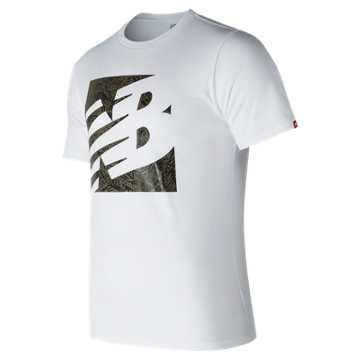 New Balance Fern Knockout Tee, White