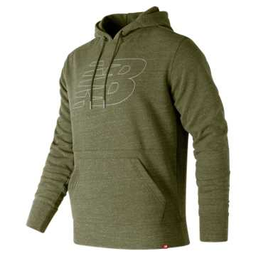 New Balance Heather Pullover Hoodie, Covert