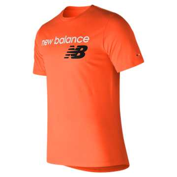 New Balance NB Athletics Tee, Orange