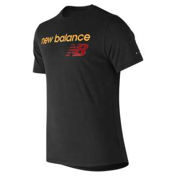 New Balance NB Athletics Tee, Black