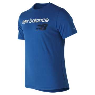 New Balance NB Athletics Tee, Blue