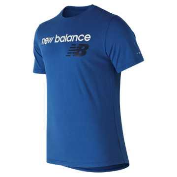 New Balance NB Athletics Tee, Blue