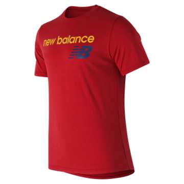 New Balance NB Athletics Tee, Red Pepper