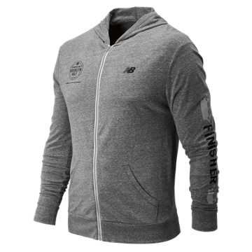 New Balance Brooklyn Half Hoodie, Grey