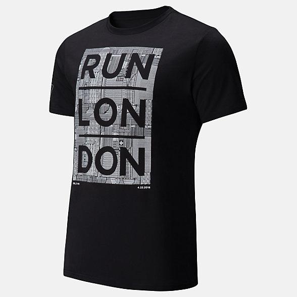 NB London Edition Run T-Shirt, MT81661DBK