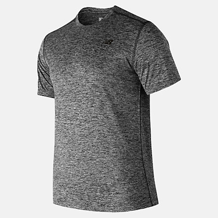 New Balance Core Heathered Tee, MT81952BKH image number null