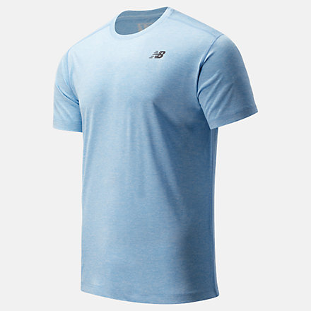 NB Core Heathered Tee, MT81952SSY image number null