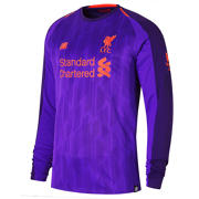 NB LFC Away Long Sleeve Jersey, Deep Violet