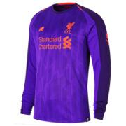 NB LFC Away Long Sleeve Jersey, Deep Violet