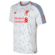 NB LFC 3rd Short Sleeve Jersey, Grey with Red