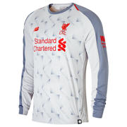 NB LFC 3rd Long Sleeve Jersey, Grey with Violet