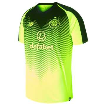 New Balance Celtic FC 3rd Short Sleeve Jersey, Black
