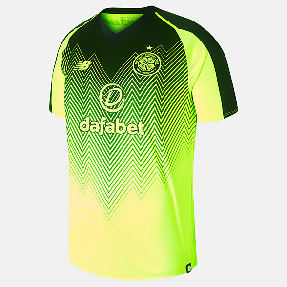 New Balance Celtic FC 3rd Short Sleeve Jersey, MT830085HBK
