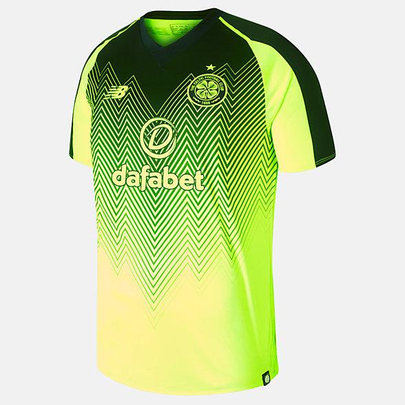 New Balance Maillot à manches courtes troisième FC Celtic, MT830085HBK