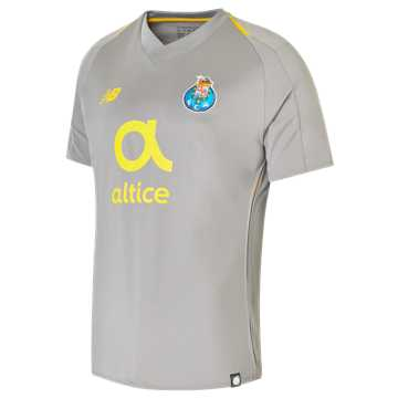 New Balance FC Porto Away Short Sleeve Jersey, Frost Grey