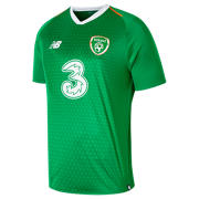 New Balance FA Ireland Home Short Sleeve Jersey, Jolly Green