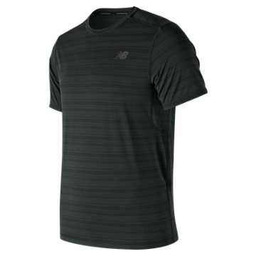 New Balance Anticipate Tee, Black
