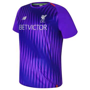 New Balance Liverpool FC Elite Training Matchday Jersey, Deep Violet