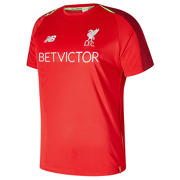 NB LFC Elite Training Short Sleeve Jersey, Racing Red