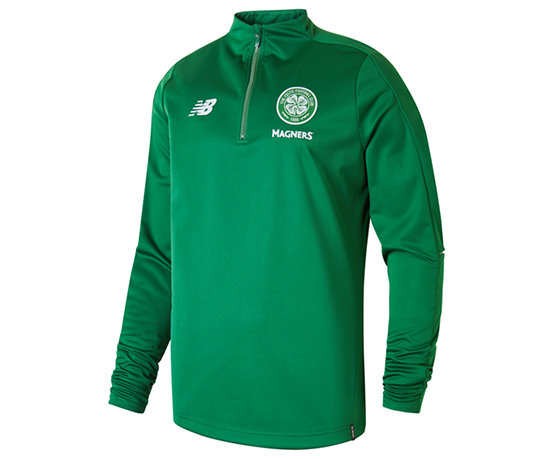 new style cf34e fbeb9 Celtic FC Elite Training Quarter Zip Softshell