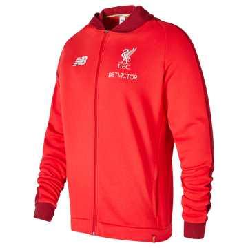 New Balance Liverpool FC Elite Leisure Hoodie, Racing Red