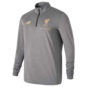 New Balance Liverpool FC Managers Midlayer, Grey Marl