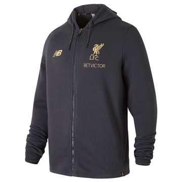 New Balance Liverpool FC Managers Hoodie, Phantom