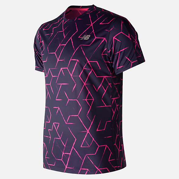 New Balance Printed Accelerate Short Sleeve, MT83174PGP