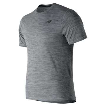 New Balance Restore Short Sleeve, Athletic Grey