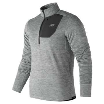 New Balance NB Heat Quarter Zip, Athletic Grey