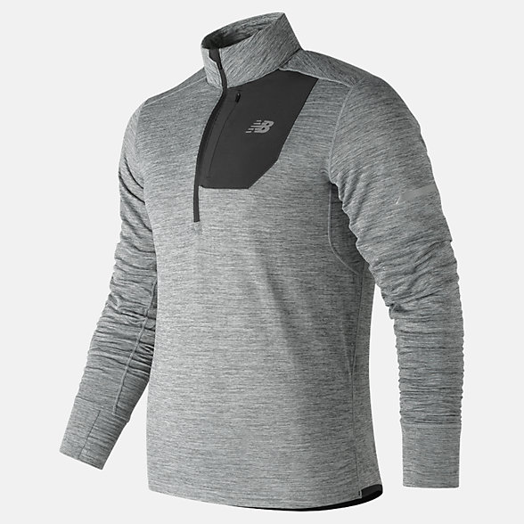 New Balance NB Heat Quarter Zip, MT83246AG