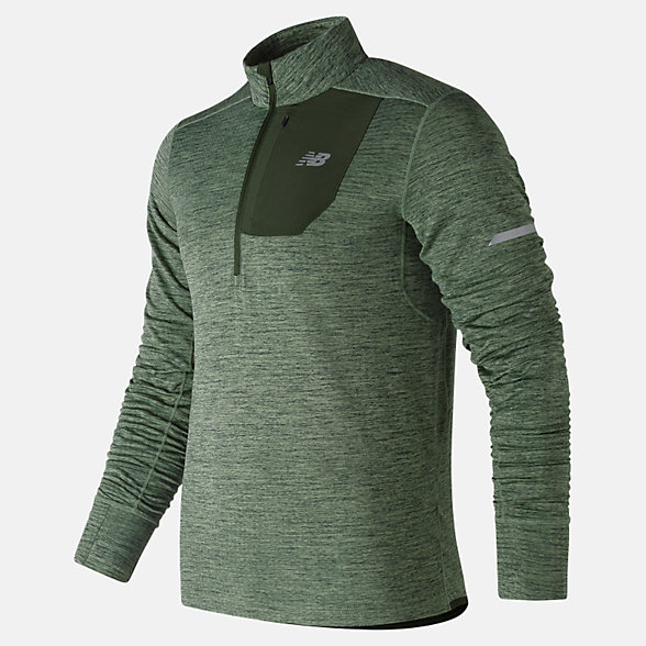 New Balance NB Heat Quarter Zip, MT83246VCD
