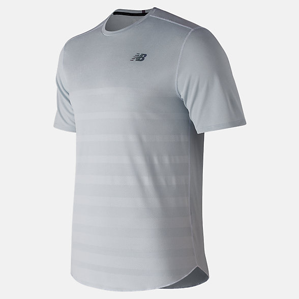 New Balance Q Speed Jacquard Short Sleeve, MT83250AFH