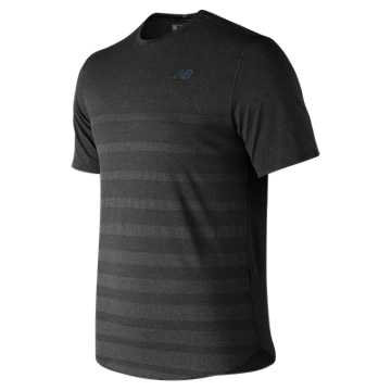 New Balance Q Speed Jacquard Short Sleeve, Black