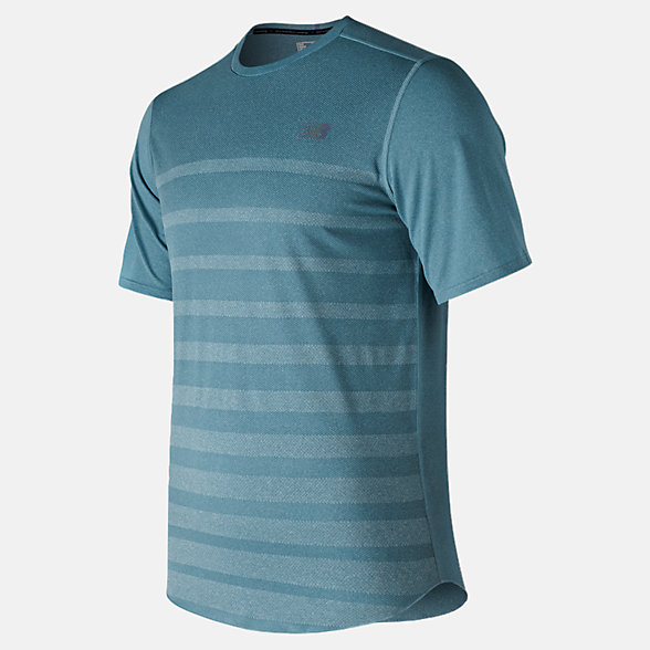 New Balance Q Speed Jacquard Short Sleeve, MT83250BLF