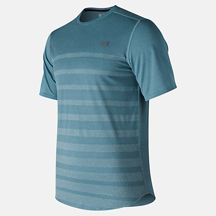 New Balance Q Speed Jacquard Short Sleeve, MT83250BLF image number null