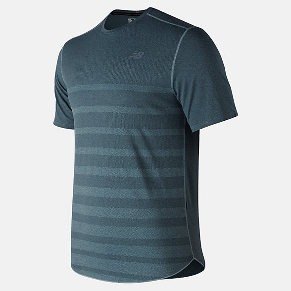 New Balance Q Speed Jacquard Short Sleeve, MT83250SMR