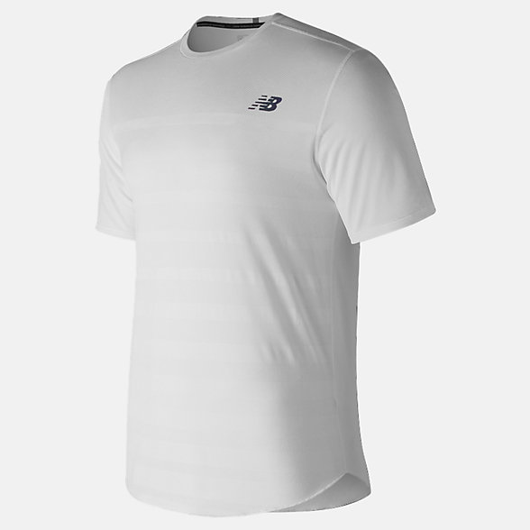 New Balance Q Speed Jacquard Short Sleeve, MT83250WT
