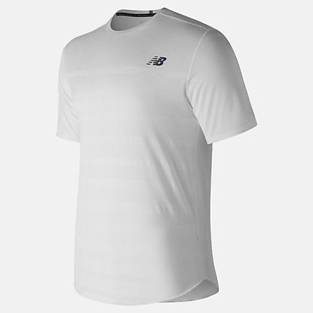 New Balance Q Speed Jacquard Short Sleeve, MT83250WT image number null