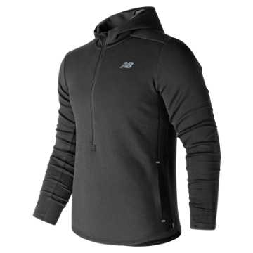 New Balance Q Speed Hoodie, Black
