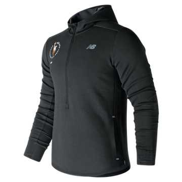 New Balance NYC Marathon Q Speed Hoodie, Black
