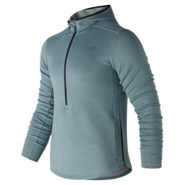 New Balance Q Speed Hoodie, Smoke Blue